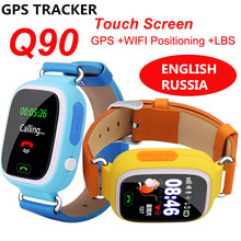 GPS Q90/Q50 Smart baby Watch phone with sim card WIFI Location SOS Call Tracker children Anti-Lost Monitor Device watch PK Q100 elderly smart watch pedometer sos call remote control anti lost gps tracker wifi sim card watch for old men women ios android
