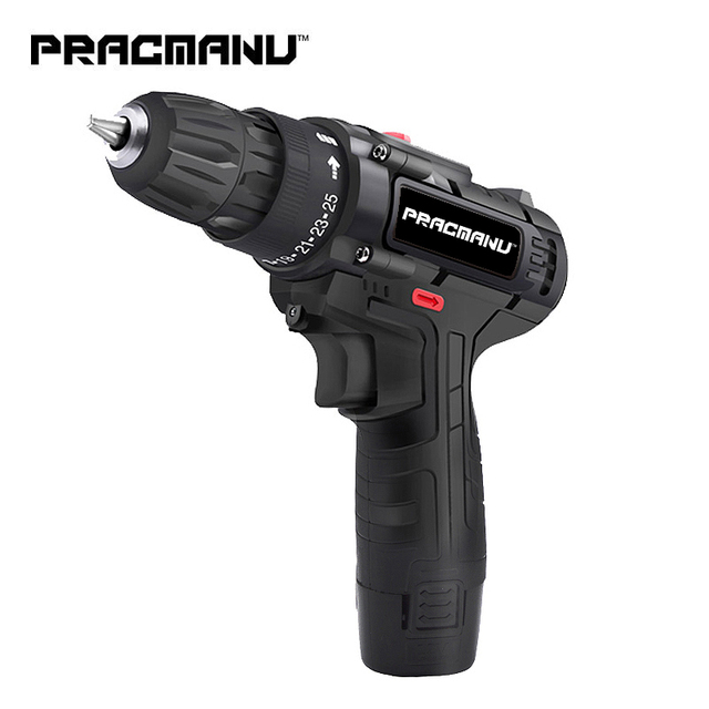 PRACMANU 12V akku schrauber Bohrer Bohrmaschine mini akkuschrauber power tool akku bohrschrauber
