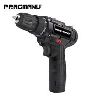 PRACMANU 12V cordless screwdriver Drill Electric Drill  mini cordless electric screwdriver power tool cordless drill|Electric Drills| |  -