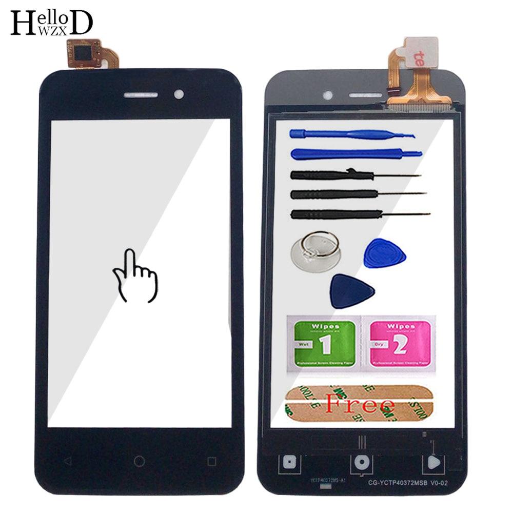 4.0'' Mobile Touch Screen For BQ BQ-4026 UP BQs-4026 BQ 4026 Touch Screen Digitizer Panel Lens Sensor Fornt Glass 3M Glue Tools
