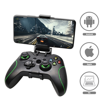 Wireless Gamepad For PS3/IOS/Android Phone/PC/TV Box Joystick 2.4G Joypad Game Controller For Xiaomi Smart Phone  Accessories wireless gamepad gaming controller for ps3 android tv box pc gpd xd with otg converter computer joystick joypad