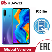 Huawei P30 Lite 4Gb 64Gb Smartphone Global Versie 6.15 Inch Nfc Met Google Play Mobiele Telefoon Ota Update android 9 24MP Camera