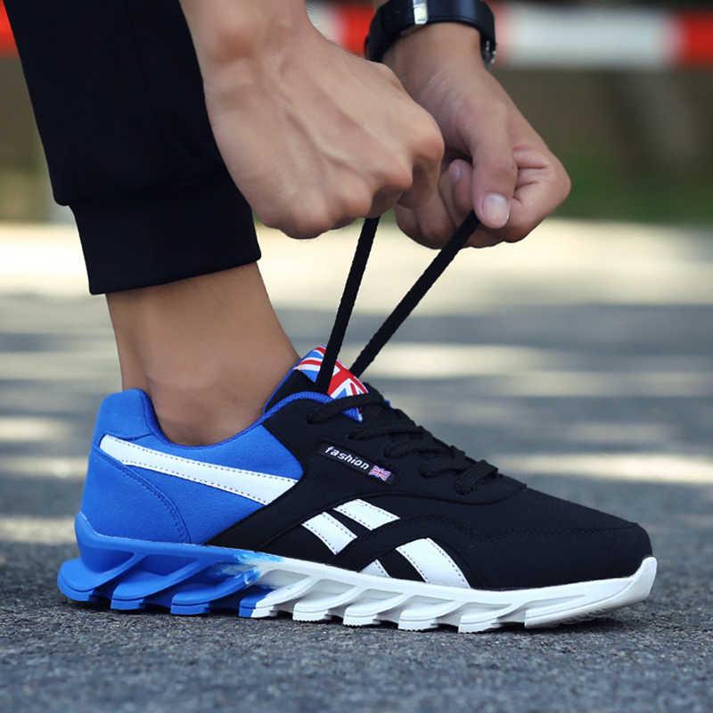 รองเท้าผู้ชายRunning Breathableกีฬากลางแจ้งรองเท้าคู่สบายรองเท้าผ้าใบผู้ชายรองเท้าวิ่งรองเท้าสำหรับสตรีรองเท้า