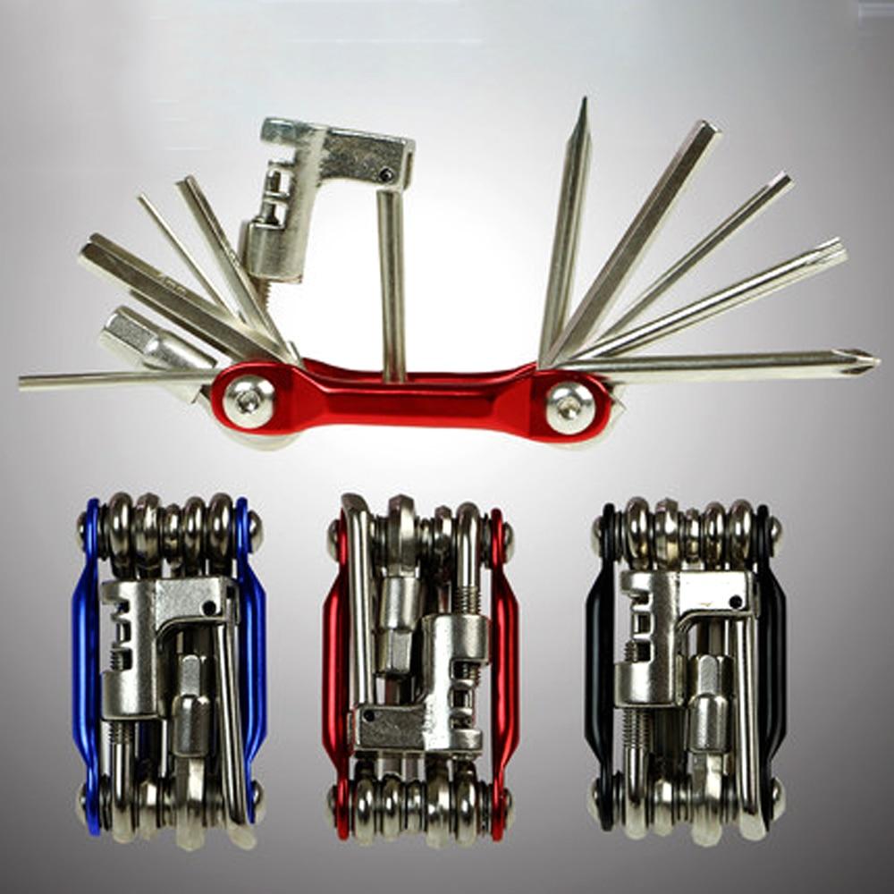 15 In 1 Multifunction Bicycle Repair Tools Kit Hex Spoke Cycling Screwdriver Tool MTB Mountain Cycling Bike Repair Tool