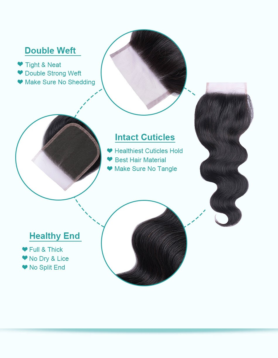 body wave lace closure-4+4_07