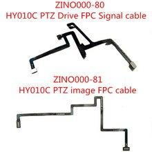 Hubsan Zino H117S RC Drone Quadcopter için Yedek Parça ZINO000 80 HY010C PTZ Sürücü FPC Sinyal kablosu/ZINO000 81 görüntü FPC kablosu