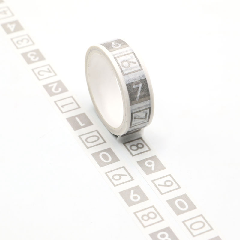 NEW 1pc Cute Easy Tear Figure Washi Tape Kawaii Scrapbooking Tool Adhesive Masking Tape Photo Album Diy Decorative Tape