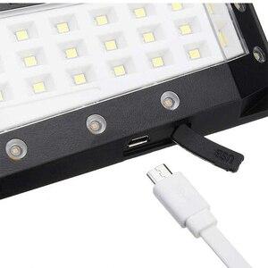 Image 3 - USB Ricaricabile PIR di Movimento Proiettori A LED di Movimento Della Luce Solare Lampada Da Parete per Esterni Casa Giardino Yard Passerella di Sicurezza della Luce di Via