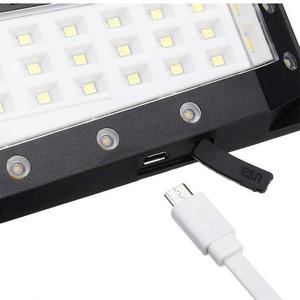 Image 3 - USB akumulator PIR Motion reflektory LED Motion lampa słoneczna zewnętrzna kinkiet Home Garden Yard chodnik bezpieczeństwo światła uliczne