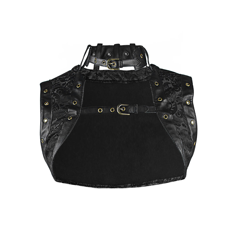Burvogue Plus bez rukávů Gothic Korzet Top Steampunk Korzet Top pro ženy Vintage tisk Korzet Top Slimming Dobby Corselet