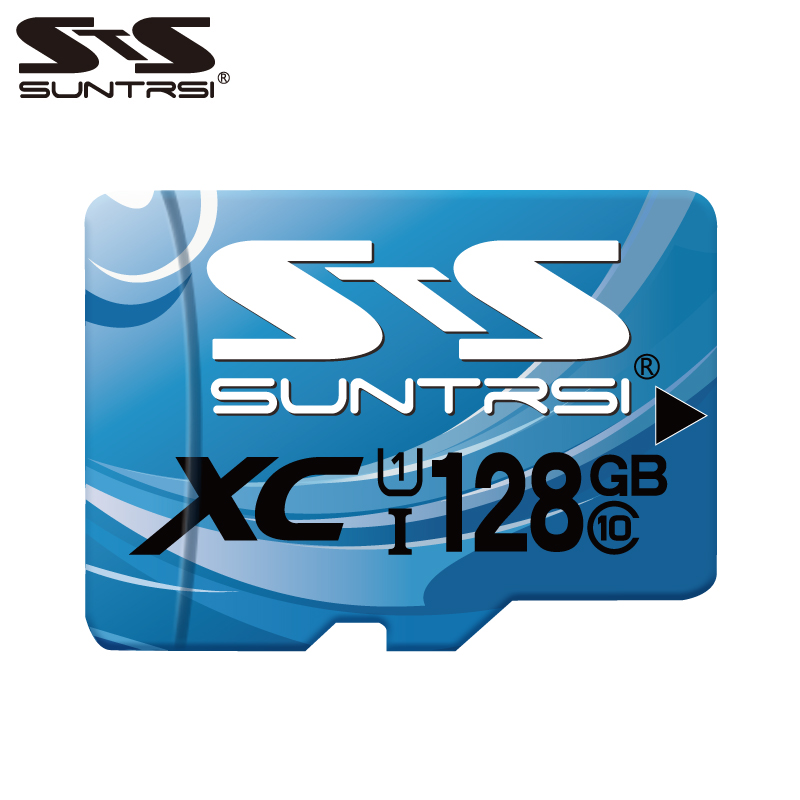Suntrsi Mini SD Card 32GB/64GB/128GB/256GB Class10 TF Card High Quality Micro SD C10 UHS Memory Card For SmartPhone And Camera