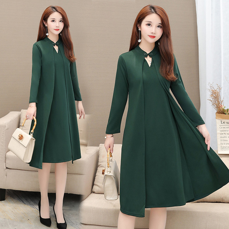 Winter 6XL Plus Size <font><b>Sexy</b></font> Dresses Women Elegant Half Sleeve Big Large Size dress 2020 Autumn <font><b>femme</b></font> Office Clothing Vestidos <font><b>5XL</b></font> image