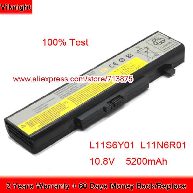 High Quality 10.8V 5200mAh L11S6Y01 Battery For Lenovo G710 Battery G580 580 Z580 Y580 V580c L11N6R01 L11P6R01 L11L6F01 L11L6R01