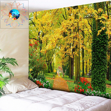 Chic Natural Forest Elk Large Wall Tapestry Cheap Hippie Hanging Bohemian Tapestries Mandala Art Decor Gobelin