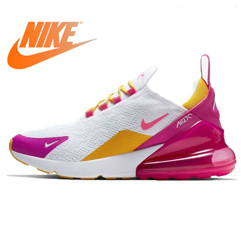 Original Authentic Nike Air Max 270 Womens Running Shoes Sneakers Sport Outdoor Comfortable Breathable Low-top Shoes AH6789