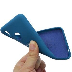 Image 5 - Original Liquid Silicone Case For Samsung Galaxy A02S A20E A01 A11 A21S A31 A51 A41 A71 A12 A32 A52 A42 A72 M51 M31 Soft Cover