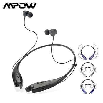 Auriculares inalámbricos Mpow Jaws, Auriculares Bluetooth con Estilo Halter de cuello, auriculares manos libres, llamadas para iPhone Xiaomi, teléfono inteligente Huawei