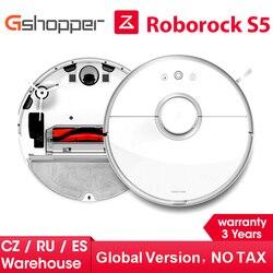 2019 Roborock 2 Aspirador de pó Molhado e Seco S50 S55 Xiaomi Poeira Esterilizar Mopping Robô Inteligente Planejado Lavagem de Sucção APP