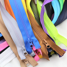 5pcs Meetee 5# 70cm 90cm Resin Zipper Open End Zip for Tent Jacket Coat  Tailor Garment Bags Home Textile Sewing Crafts