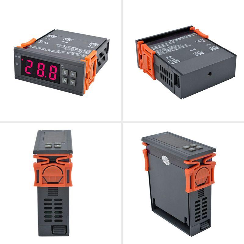 MH1210W AC 90 250V Цифровой термометр терморегулятор регулятор температуры Термостат реле NTC датчик для инкубатора|Запчасти для электроводонагревателей|   | АлиЭкспресс