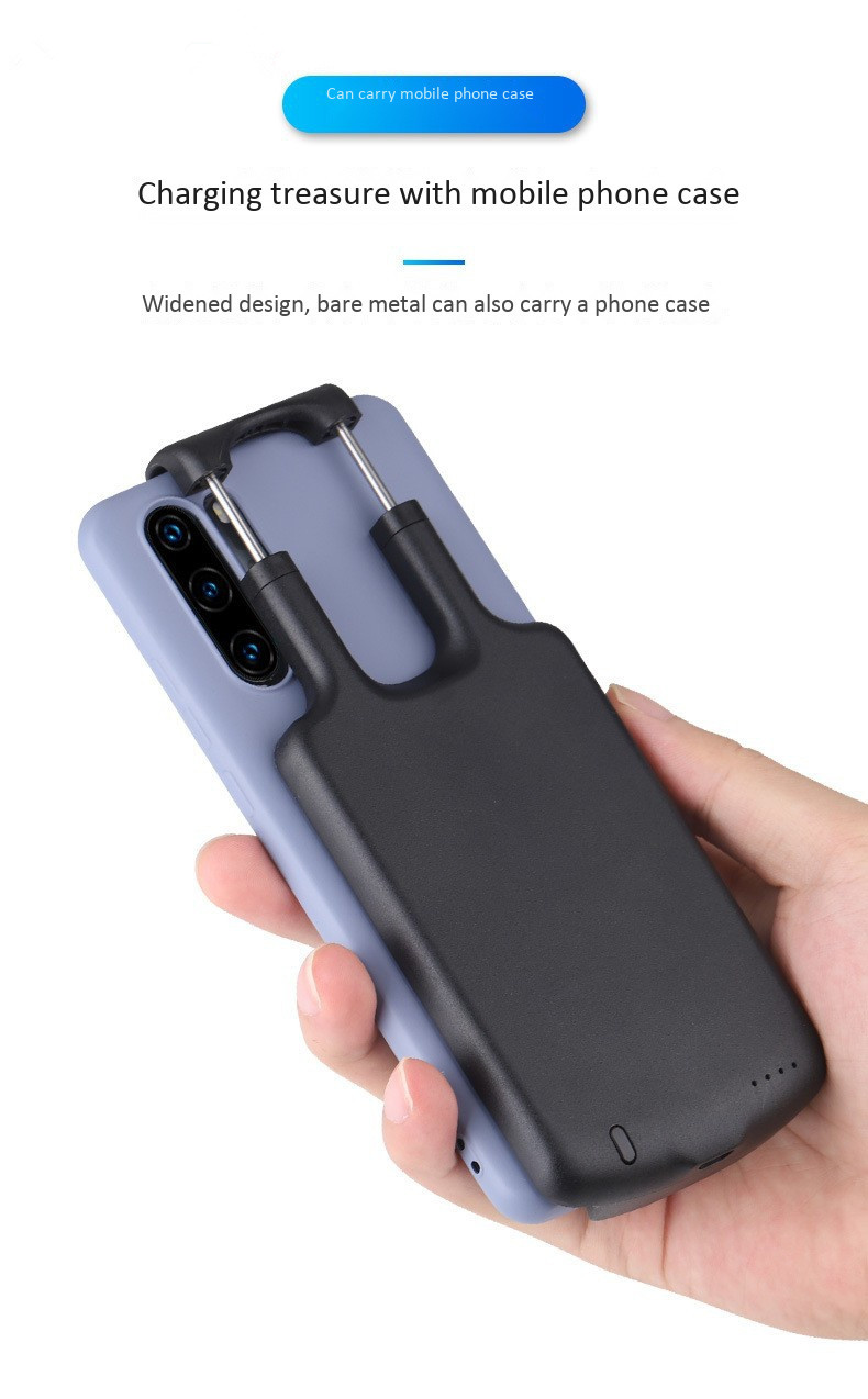5000mAh <font><b>Battery</b></font> <font><b>Case</b></font> For <font><b>Xiaomi</b></font> <font><b>Mi</b></font> 8 9 SE Mix 2s 2 <font><b>3</b></font> Max 2 Portable External Backup Pack for <font><b>Xiaomi</b></font> <font><b>Mi</b></font> 5X 6 6X Redmi <font><b>Note</b></font> 7 image