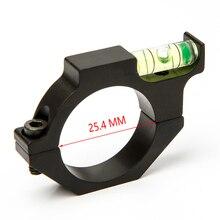 Riflescopes Hunting Spirit Level Optics Bubble Scope Level  Ring Holder Hunting  Accessories 25.4mm Scope Mounts 1 Inch Alloy