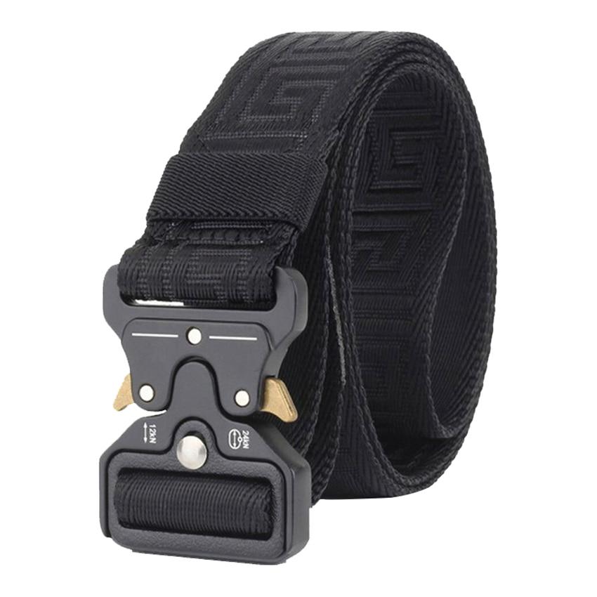 New Nylon Belt Men Army Tactical Designer Belt For Jeans Military Combat Belt Emergency Survival Waist Belt Strap Gifts For Men