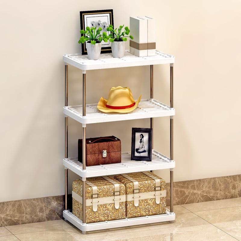 Suo Ernuo Storage Shelf Kitchen Shelf Plastic Storage Rack Wholesale/Sample Production/Processing