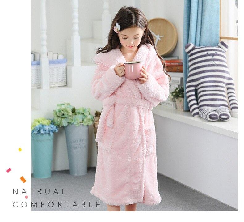 flanela terry roupão bonito coelho rosa roupão