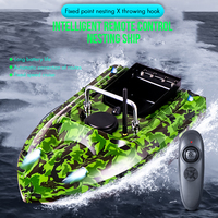 500m Remote Rc Boat Fishing boat Rc Fishing Bait boat 180Mins Sail Remote control boats Speedboat Fish Finder Ship Voerboot