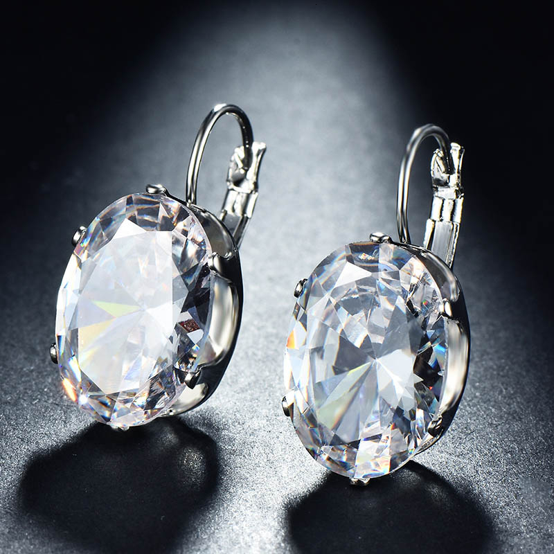 Ha8ad870573424513b833b79b77aca6eey - Cellacity Korean 925 silver Earrings with oval citrine gemstone  Engagement Earrings Drop Earrings For Women Jewelry wholesale