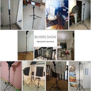 Image 5 - Professionelle Einstellbare Licht Stehen Stativ Mit 1/4 Schraube Kopf Für Foto Studio Blinkt Fotografische Beleuchtung Softbox