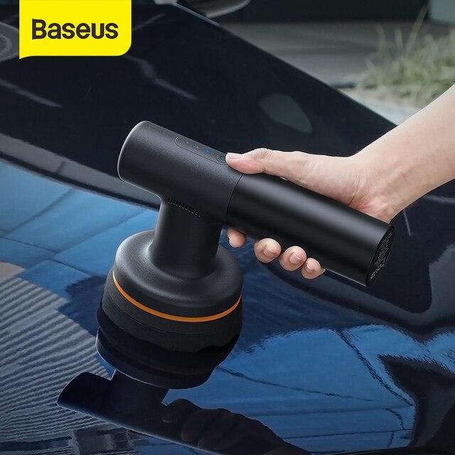 Baseus Car Polishing Machine Electric Wireless Polisher 3800rpm Adjustable Speed Auto Waxing Tools Accessories 1