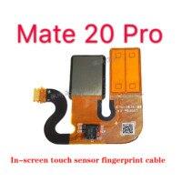 Voor Huawei Mate 20 Pro Screen Touch Sensor Vingerafdruk Kabel Home Knop Originele