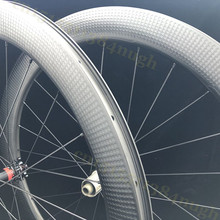45mm 58mm depth tubeless disc brake road bike wheelset 700c dimple disk carbon axle wheels Disc Brake T800 carbon bicycle wheel free shipping mtb 26 carbon wheels disc brake 26er am dh carbon single rim 35mm width 25mm depth 3k matte finish 32 holes