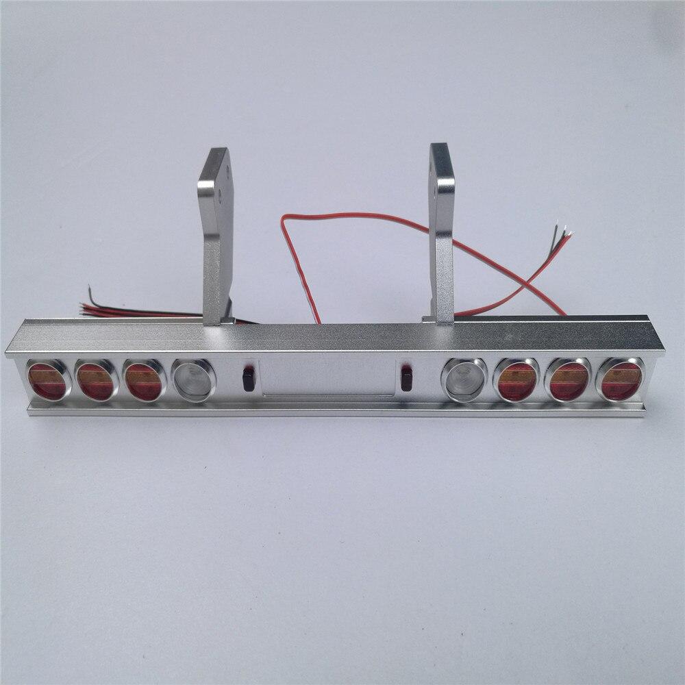 Замена тележки металлический задний фонарь модифицированный свет для Tamiya 1/14 трактор 56319 56330 RC автозапчасти аксессуары