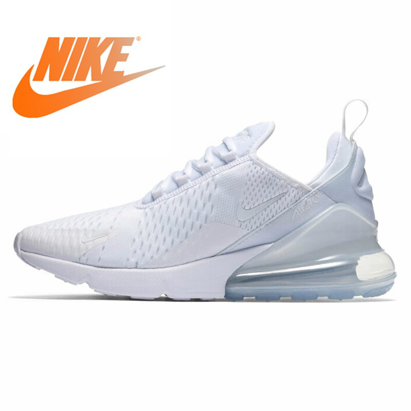 Original NIKE Air Max 270 Women Running Shoes Jogging Sports Durable Breathable Comfortable Lace-Up Cushioning Sneakers AH6789