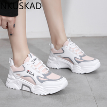 New Sneakers Women 2020Breathable Mesh Casual Shoes Female F