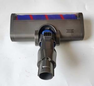 Image 3 - Электромоторизованная насадка для напольной щетки, турбощетка для dyson DC45 DC62 74 V6, ТРИГГЕРНАЯ головка для животных, детали для беспроводной головки