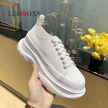 2020 spring and summer new white canvas shoes ladies casual