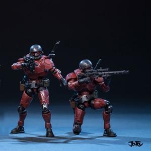 Image 5 - Joytoy 1/25 Action Figure De 4rd Staal Rit Chileense Corps Soldaten (3 Stks/set) model Speelgoed Voor Verjaardag/Vakantie Cadeau
