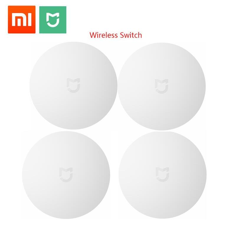 Xiaomi ZigBee Smart Wireless Switch for Xiaomi Smart Home House Control Center Intelligent Multifunction White Switch in Box