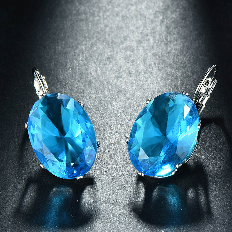 Ha8ae99552c59463cac9ffefceab540cbi - Cellacity Korean 925 silver Earrings with oval citrine gemstone  Engagement Earrings Drop Earrings For Women Jewelry wholesale