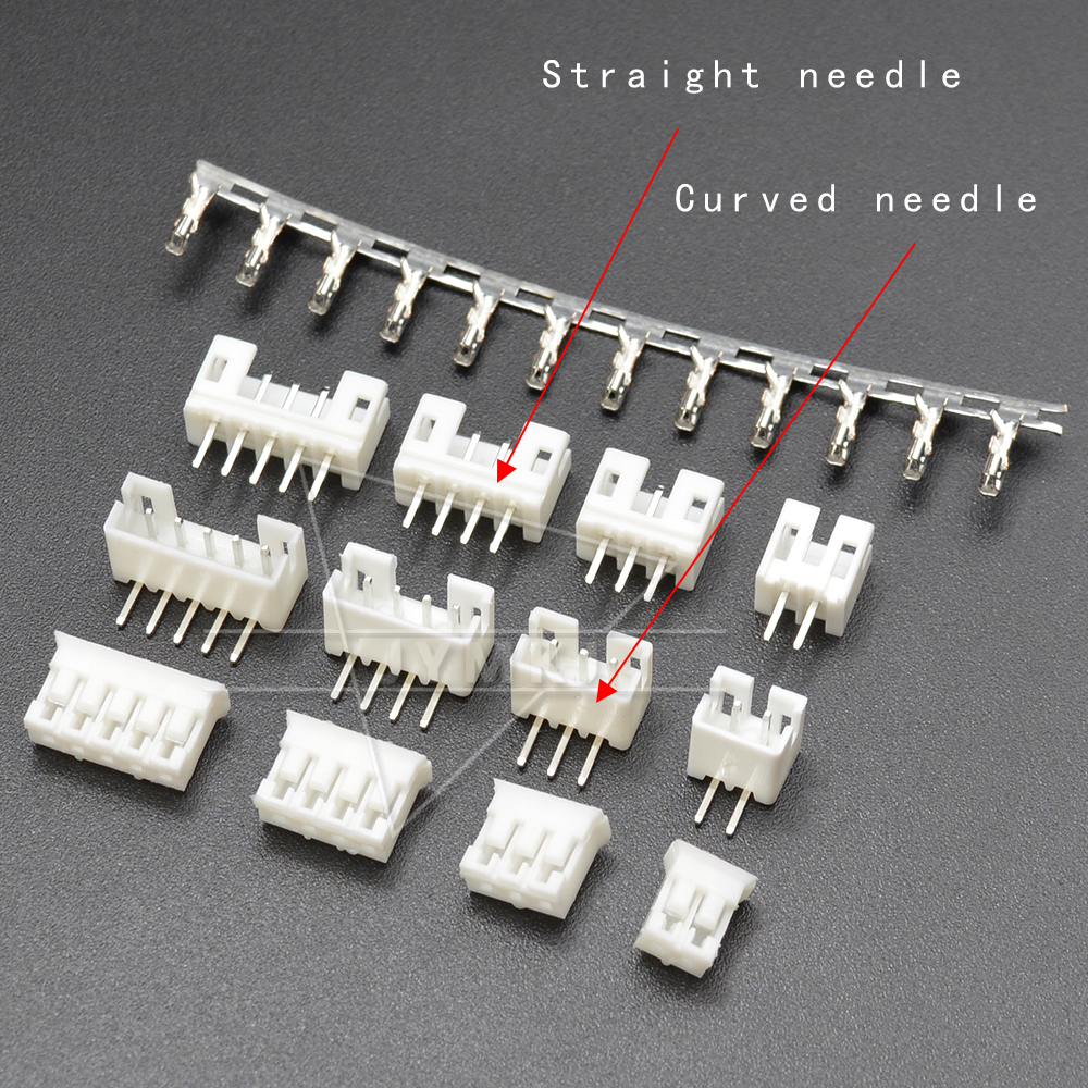 20SETS JST PH2.0 Wire Connector PH 2.0mm Pin Header + Housing + Terminal Kit 2p 3p 4p 5p 6 Pin PH Kits TJC3