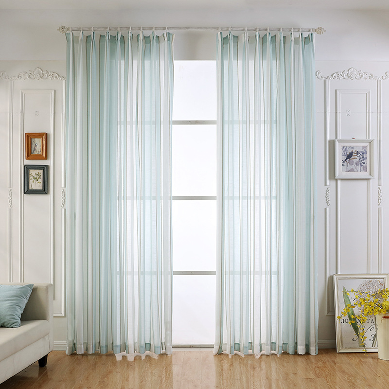 check MRP of sheer curtains green