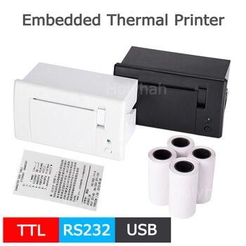 Panel de 58mm integrado impresora térmica kiosco impresora de Mini recibo con interfaz RS232 TTL uso USB para ESC POS Arduino