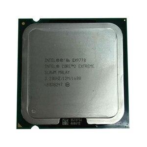 Image 2 - معالج انتل كور QX9770 CPU 3.2G 12M 4 Core 4 خيط LGA775