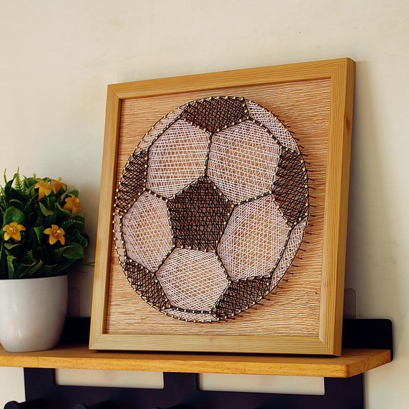 String Art Sunset Handmade DIY Decoration Wood String Art Kits for Adults