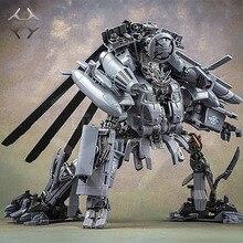 Komiks klub weijiang M05 Brawl transformacja Oversize KO SS08 ukryj cień Blackout Vertigo Alloy helikopter figurka robot