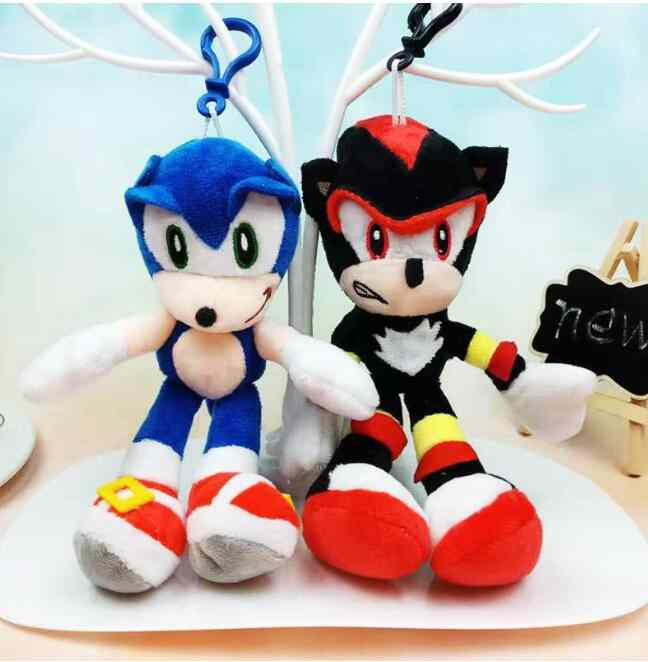 19cm 2020 Sonic The Hedgehog Plush Doll Toys Soft Stuffed Peluche